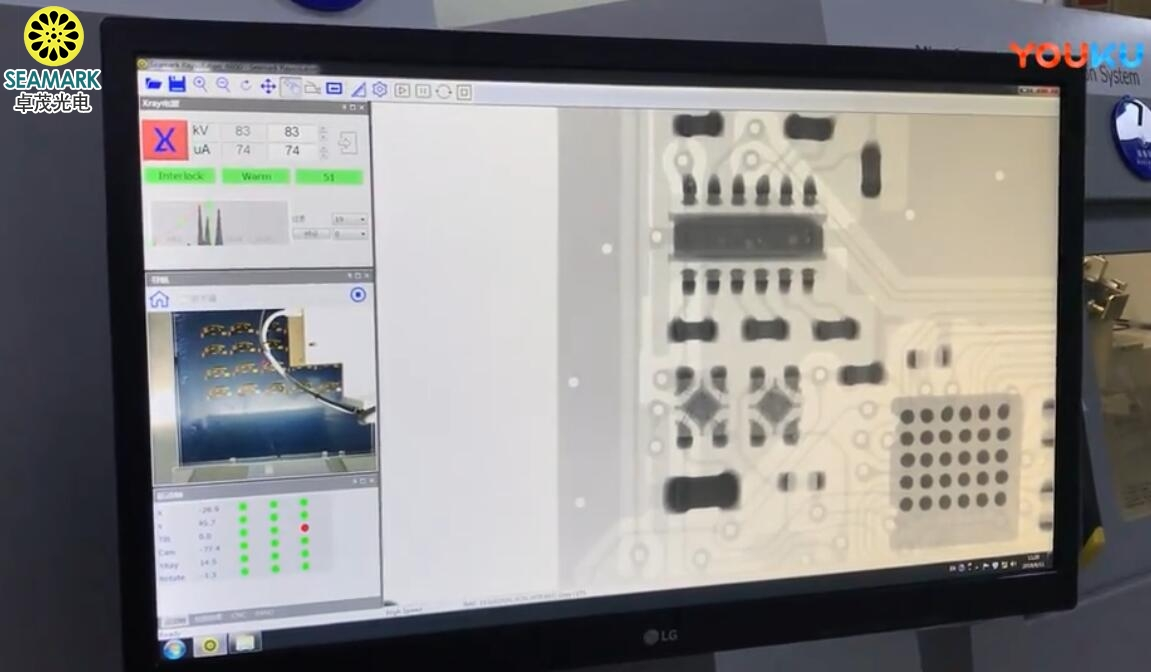 X-ray检测BGA空洞柔性电路板