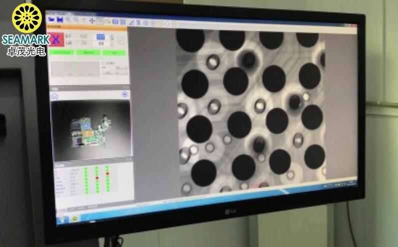 SMD物料盘X射线点料视频