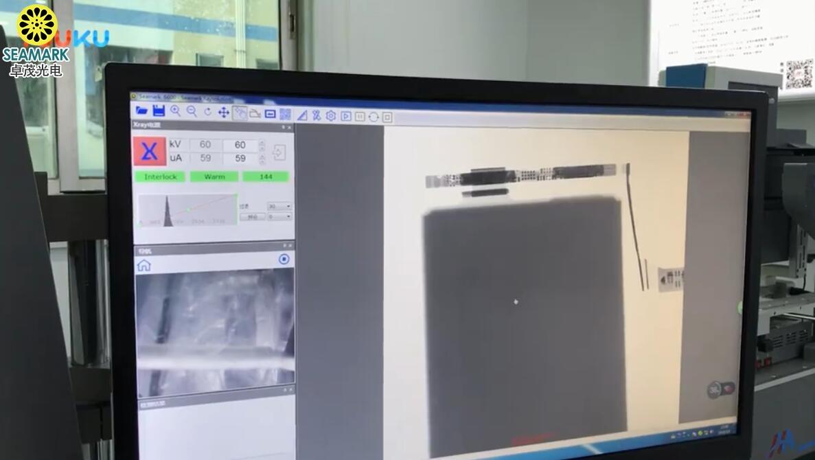 X-RAY检测苹果电池内部结构,线路和芯片